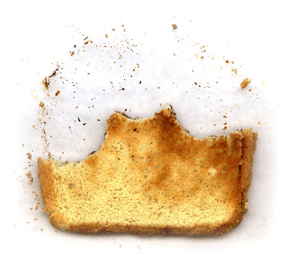 Toast 3: Variations on a piece of toast.Please visit my stockxpert gallery:http://www.stockxpert.com ..