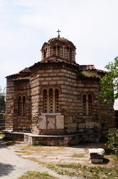Byzantine church of the Holy A: Byzantine church of the Holy Apostles in Athens, Greece