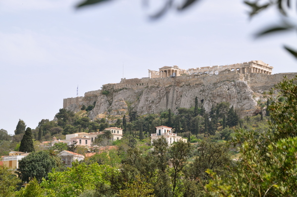 Acropolis 2: View on the acropolis of Athens, Greece