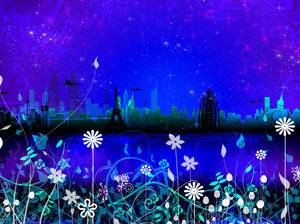 Dreamscape 3: Cityscape in a series of colours and concepts.I was trying a set of new photoshop brushes I downloaded yesterday and this is what I came up with.Please comment and vote.Love you all !