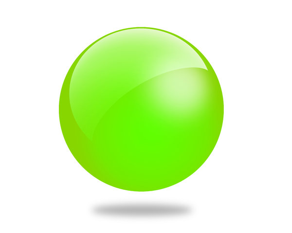 Glossy Ball 4: Set of different colored gloss ball illustrations