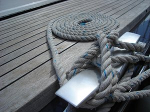 Rope on deck: Rope on deck