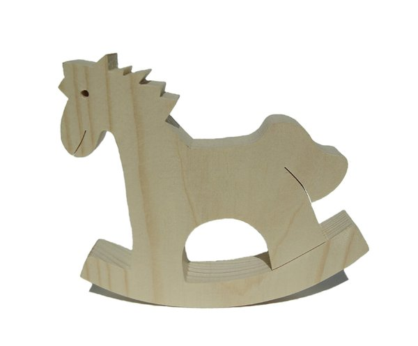 Rocking -horse: Funny wooden toy