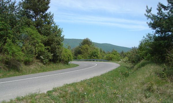 Mountain road: road in mountains, slovakia