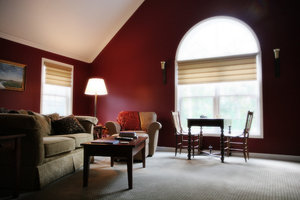 Room Interior: Interior of a family room in New Hampshire