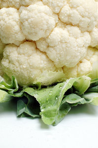 Cauliflower serie # 2 (detail): How can I describe a cauliflower? Grab it, ask permission (e-mail) and use it!