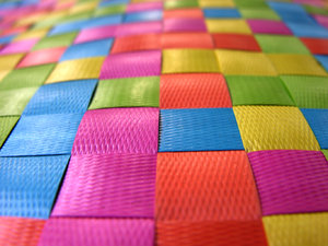 Color!: This is a brightly colored pattern that caught my eye.