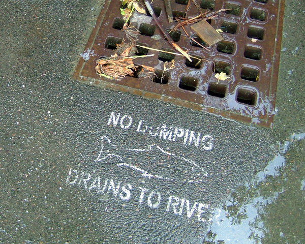 Drain: This is funny, if I read this a certain way it looks like they don't want me to dump