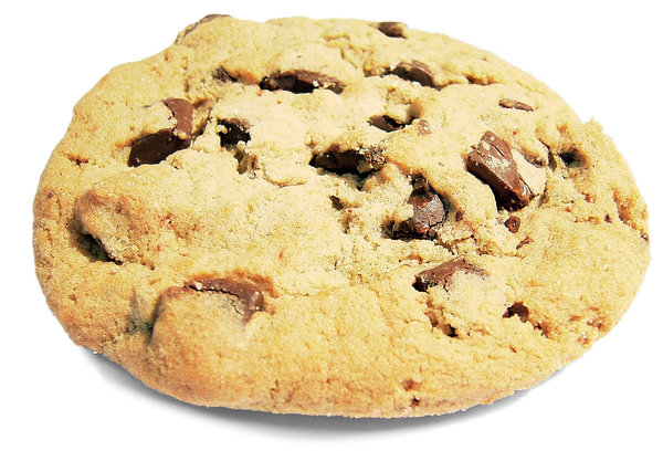 Big Cookie: Yeah, that monster sized cookie was no match for me ... yum! :-)