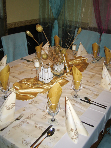 table: golden table