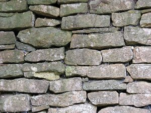 stone wall: old stone wall