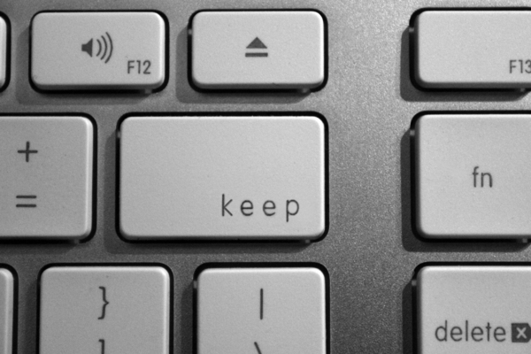 Computer keyboard keep: Computer keyboard keep