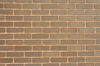 Brown Brick Background: Brown bricks in a wall, background