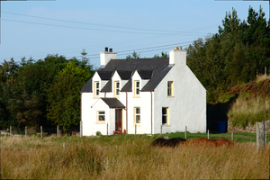 Rural house: House in the Scottish Highlands