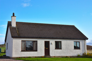 House: A modern bungalow in a remote Scottish Highland setting