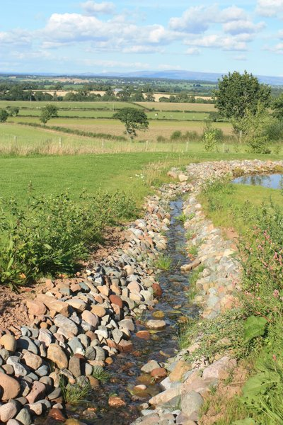 Artificial stream: A man made stream