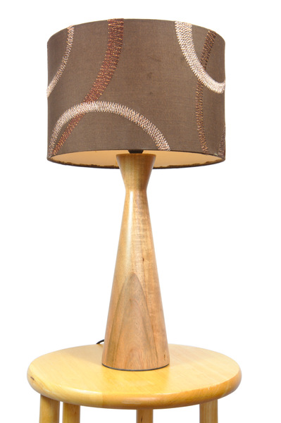 Table lamp: Table lamp isolated against white