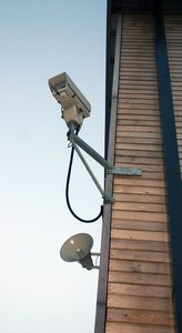 Security: CCtv cameras and security system