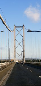 Road Bridge: The Forth Road Bridge Edinburgh