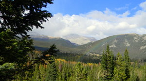 Rocky Mountain Rainbow: Some shots of a rainbow in Rocky Mountain National Park, CO. Trust me, it was so much more awesome in real life- it spanned this mountain valley and just blew me away!