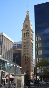 Denver: The historic Daniels & Fisher Tower, Denver, CO. This was the tallest building west of the Mississippi when it was built!