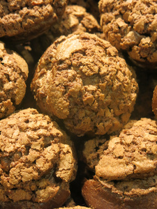 Muffins texture or background: Muffin texture or background