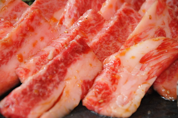 Meat texture: raw meat