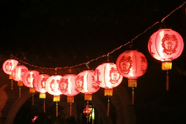 night red lanterns: night red lanterns