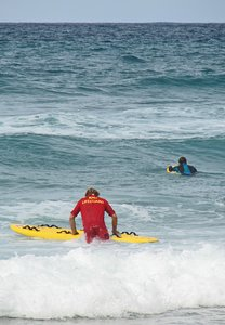 Newquay Lifeguard: RNLI Lifeguard in Cornwall