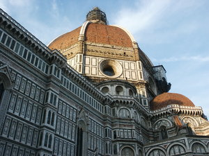 Il Duomo Florence, Italy: Florence cathedral at sunset. Absolute beauty.