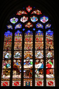 Stained glass 1: The last supper