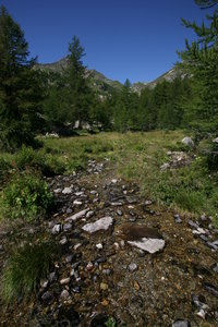 Mountain's landscapes 2: Landscape of mountains near Gressoney (AO) Italy