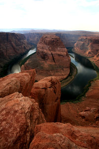 Horseshoe bend 2: Landscape of horseshoe bend
