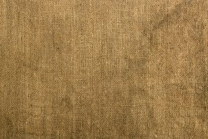 Burlap Texture: A grungy section of a burlap sack