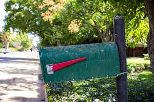 Mailbox: Mailbox on a rural route