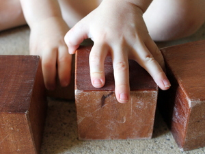 Child's Play: Wooden building blocks