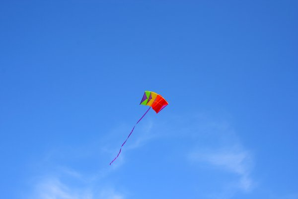 kite 1: kite on the sky