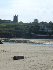 Across the estury: Low tide at Hayle, Cornwall