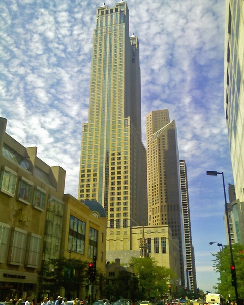 Mag Mile: Magnificent Mile on a summer weekend.
