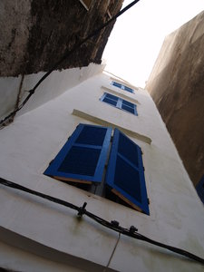 Windows in Maroco: Maroco Essaouira