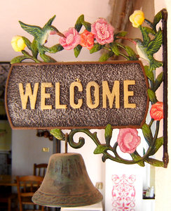 Welcome! 1: you are welcome