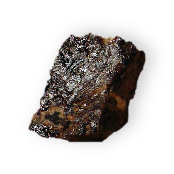 Triplite: Triplite (Manganese iron fluophosphate)  Location;Jefferson County, Colorado.