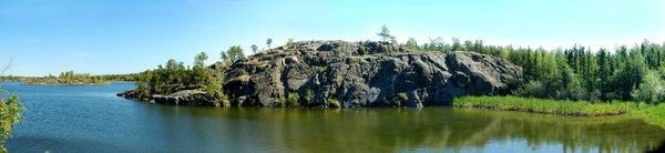 Pano Canadian Shield 2: Yellowknife Outcrop
