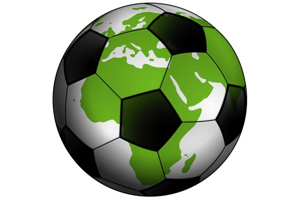 Classic Soccer Ball 2: Classic black and white ball for the football (soccer).