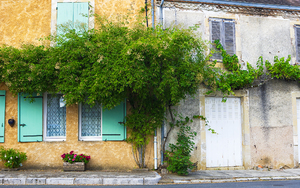 French village: French village during summer