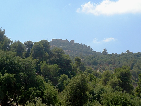 Ajlun Castle: Views of Ajlun Castle in Northern Jordan used by Saladin's forces during the crusades