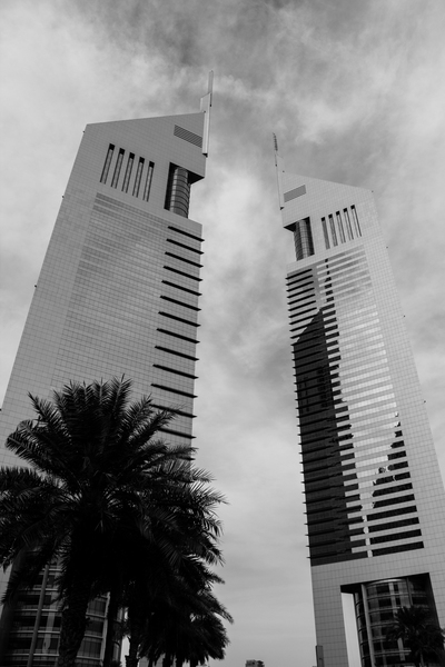 Two Towers: The Emirates Towers in Dubai