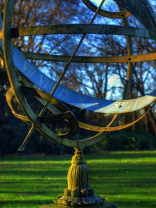 Sundial: Somewhere in a castlegarden