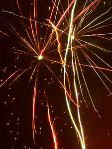 Fireworks: Happy new year