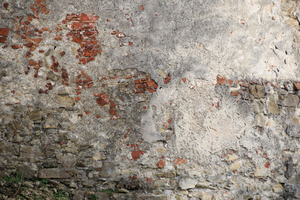 Wall texture: picture taken of an old wall of an medieval castle